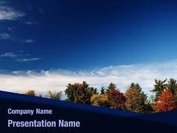 Free Autumn Sky Powerpoint Template Backgrounds Autumn Sky