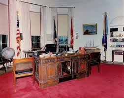 john f kennedy oval office. While She And JFK Were In Texas, Jackie Used The Away Time To Have A New Red Rug Installed Oval Office. When Returned On It Was Place. John F Kennedy Office I