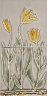 Decorative Relief Tiles LJ Tulip Panel 100x100 100 tiles Pratt Larson 73