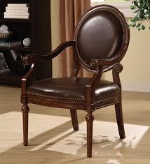 amusing living room design artistic chairs astounding leather accent with arms in of leather accent