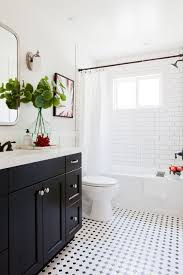 transitional bathroom ideas. Design Ideas For A Transitional Bathroom With Shaker Cabinets, Black  An Alcove Tub, Shower/bathtub Combo, And White Tile, E