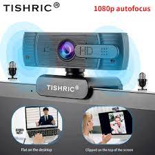 TISHRIC usb webcam 1080p autofokus web cam webcam pc kamera für computer  webkamera web kamera mit mikrofon web kamera 1080p|Webcams