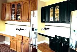 Refinishing Wood Kitchen Cabinets Cool Photos Of Kitchen Cabinets Before And After Painting Painting