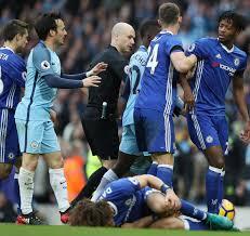 David Luiz and Eden Hazard could miss Chelsea's title clash ...