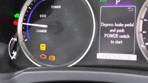 Lexus Is 250 Dashboard Warning Lights Lexus Is 2014 Dash Warning Lights Youtube