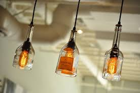 kitchen clear liquor bottle hanging light as well wine with regard to pendant prepare 19