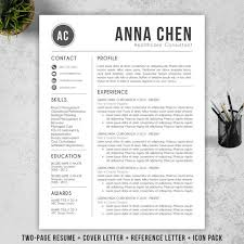 How To Make A Resume On A Mac Fascinating Resume Template CV Template Cover Letter For MS Word