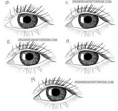 How To Draw Eyes Step By Step Free Drawn Eye Step By Step Download Free Clip Art On Owips Com