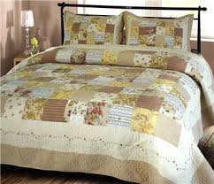 Vintage & Memories - Handcrafted Antique Style Cotton Quilts & ... beige Handcrafted cottonclassic patchwork quilt ... Adamdwight.com