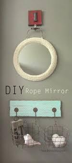 Diy Mirror Jute Rope Mirror Ballard Inspired Made In A Day