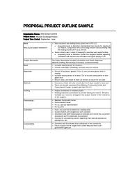 Free 18 Project Outline Examples Templates Pdf Examples