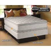 mattress and box spring. mattress and box spring