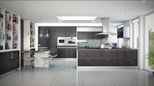 Kitchen:Open Plan Modern Kitchen Design With Wooden Floor Stylish And Modern  Open Kitchen Design