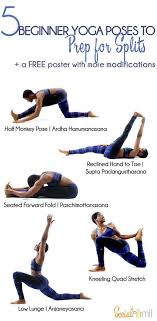 downdog diary yoga keeping you young beginner yoga poses to prep for splits