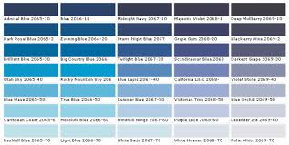 Shades Of Blue Paint Color Chart Shades Blue Color Chart Google Search In 2019 Benjamin