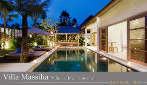 3 Bedroom Villa In Seminyak Awesome Decoration