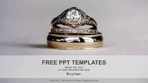 Diamond Rings Powerpoint Templates