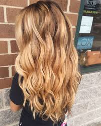 Pretty Blonde Waves Blonde Hair Color