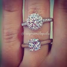1 carat diamond size diamond size guide 1 carat halo vs 1 carat solitaire engagement