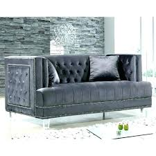 gray sofa grey medium size of with trim recliner chesterfield sectional large tufted quick look nailhead