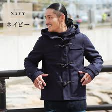 it is clothes in the fall and winter in winter clothes autumn in duffel coat men