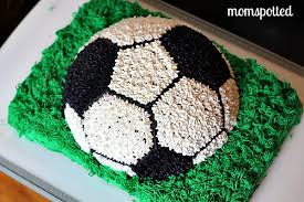 Soccer Ball Icing Decorations My Soccer Ball Cake MomSpotted 41