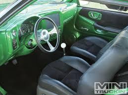 2000 chevy s10 interior