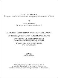 sample title theses thesis proposals