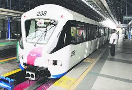 Kuala lumpur, may 25 — the kelana jaya light rail transit (lrt) prasarana malaysia berhad (prasarana), in a statement today, said that the service will operate with a train frequency of 10. New Fare System To Integrate Ktm Lrt Mrt Monorail Malaysia Malay Mail