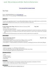 The Perfect Resume Format Stunning Sample Of Perfect Resume 48 Professional Resume Templates As They