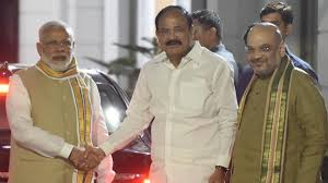 Image result for images of pm modi aND VENKAIAH NAIDU