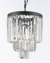 g7 1100 3 gallery chandeliers retro odeon crystal glass fringe 3 tier chandelier