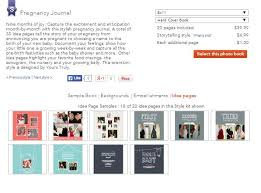 Pregnancy Journal Templates Make A Pregnancy Photo Book Using Shutterfly The Sweetest Digs