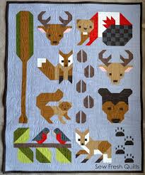 248 best Quilts - Animals (not just for kids) images on Pinterest ... & Introducing Sew Fresh Quilts new pattern – Forest Friends! I am so excited  to have completed both the Twin and Baby size versions of the. Adamdwight.com