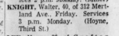 Walter Knight Funeral 18 Jan - Newspapers.com