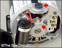 pumps spadepot com wiring new pump