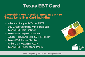 It is what the department of human services (dhs) uses to get benefits to clients. Texas Ebt Card 2021 Guide Food Stamps Ebt