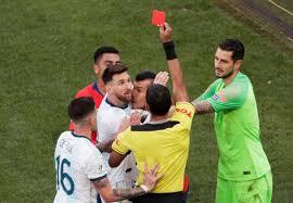 Argentina terza in Copa América: lotta col Cile, espulsi Medel e Messi -  Spaziocalcio.it