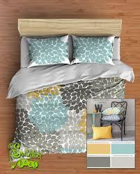 Image Chevron Duvet Floral Bedding Comforter Or Duvet Best Selling Yellow Aqua Blue And Gray Swirled Peas Swirled Peas Floral Bedding Comforter Or Duvet Best Selling Yellow Aqua Blue And