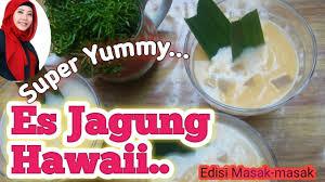 Untuk anda yang mungkin masih penasaran seperti apa rasanya es jagung hawai dan hingga saat ini belum sempat untuk membelinya. Resep Es Jagung Hawaii Ll Ide Jualan Youtube