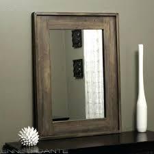 wall mirrors diy mirror frame best rustic wood framed rustic wood mirror frame41 rustic