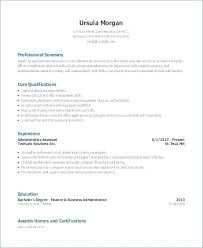 Resume For Office Assistant Magnificent Resume Office Administrator Skills For Office Assistant Resume