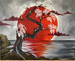 anese crimson moon pinot s palette woodmere cleveland paint and sip art studio