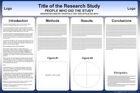 Research Poster Layouts Free Powerpoint Scientific Research Poster Templates For Printing