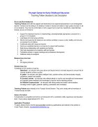 Special Education Paraprofessional Resume Free For Download Example