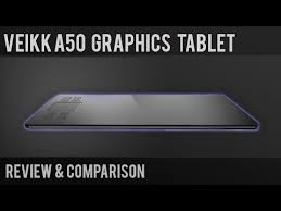 <b>Veikk A50 graphics tablet</b> | review and comparison - YouTube