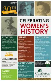 Castleton Celebrates 30 Years Of Womens History Month Activities