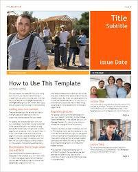 Newsletter Templates Free For Word Studiojpilates Com