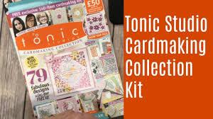 Tonic Studios Design Collection Magazine Tonic Studios Cardmaking Kit Issue 5