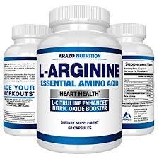 premium l arginine 1340mg nitric oxide booster with l citrulline essential amino acids